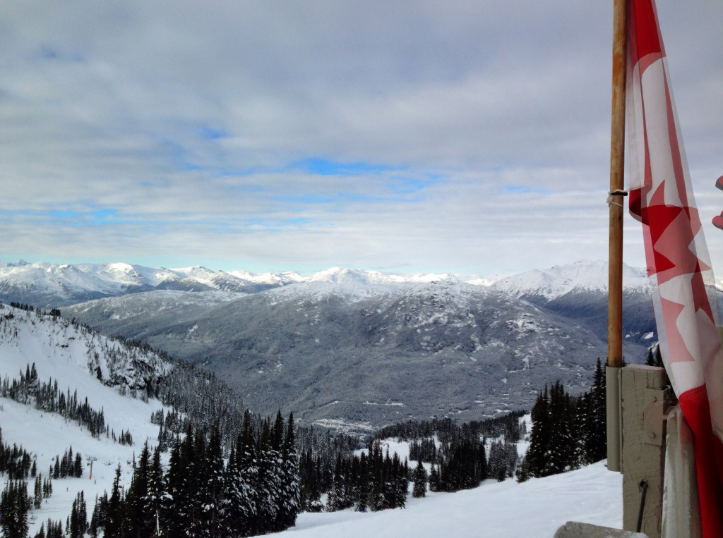 Looking down from Whistler by Anneleigh Jacobsen